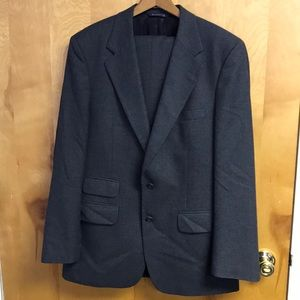 Burberry 2p charcoal wool suit